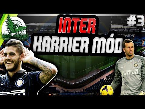 Folytatódik a Seria A! - Inter karrier mód - 3.rész