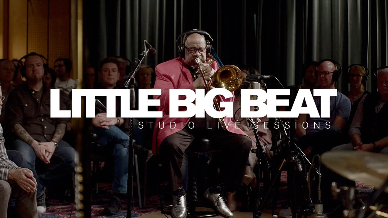 FRED WESLEY GENERATIONS - COLD DUCK TIME - STUDIO LIVE SESSION - LITTLE BIG BEAT STUDIOS