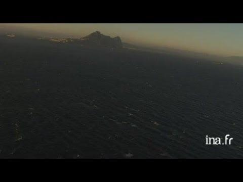 Gibraltar : rocher et côte résidentielle