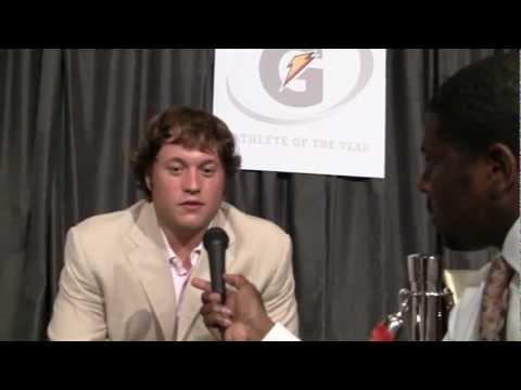 Matthew Stafford interview