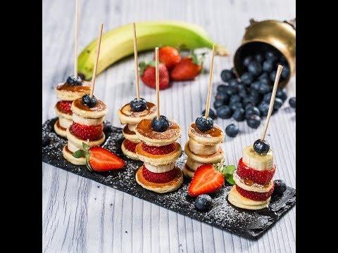 Mini-clătite cu fructe