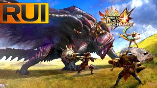Monster Hunter 4 Ultimate | New 3DS Monster Hunter Gameplay | Gore Magala