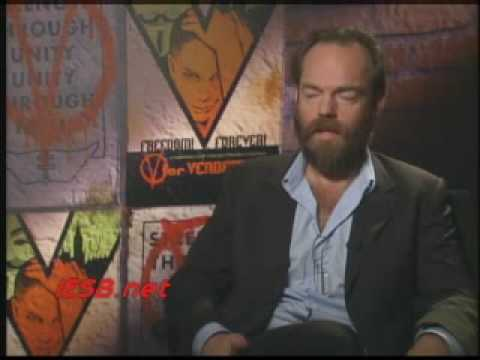 Hugo Weaving - V for Vendetta Interview