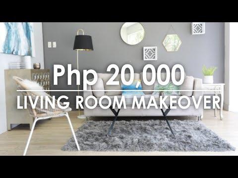 Php 20,000 Living Room Makeover - Mandaue Foam Home TV