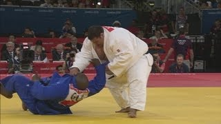 Judo Men +100 kg Elimination Round of 32 - Guam v Guinea - London 2012 Olympic Games Highlights