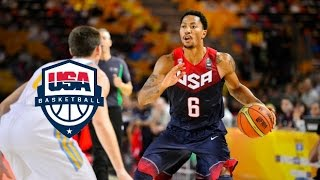 Team USA Full Highlights vs Ukraine 2014.9.4 -  Every Play!!!