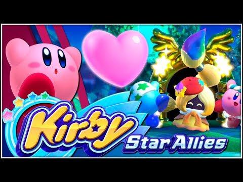 La estrella de la amistad!!!    02   Kirby Star Allies con @Dsimphony