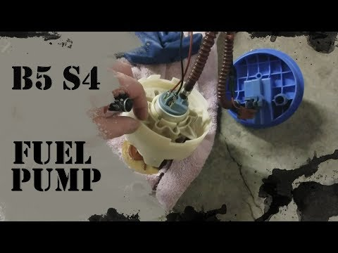 2002 Audi S4: Ep. 182 – How to replace B5 S4 fuel pump