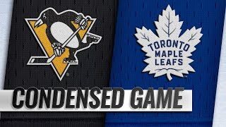 02/02/19 Condensed Game: Penguins @ Maple Leafs