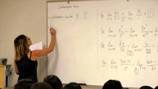 Math 2B. Calculus. Lecture 15. Indeterminate Forms and L