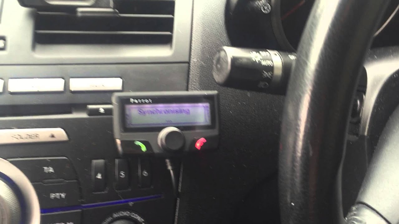 Parrot ck3100 in Honda Jazz - YouTube