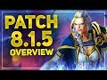 All NEW Upcoming Features & Updates In Bfa Patch 8.1.5  - Battle for Azeroth Overview