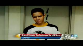 Moses Lake school shooter Barry Loukaitis resentenced to 189 years