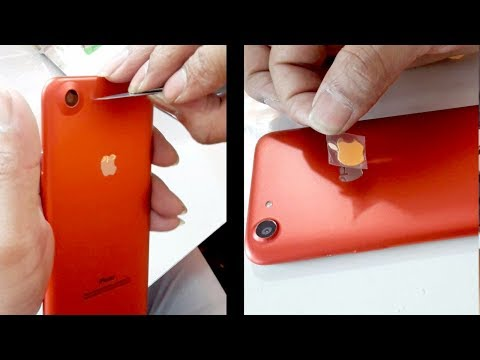 Oppo A83 or Iphone decorate any mobile with Apple lamination and logo