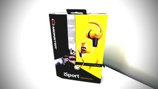 Monster iSport Immersion Headphones Unboxing & Overview (Livestrong Edition)