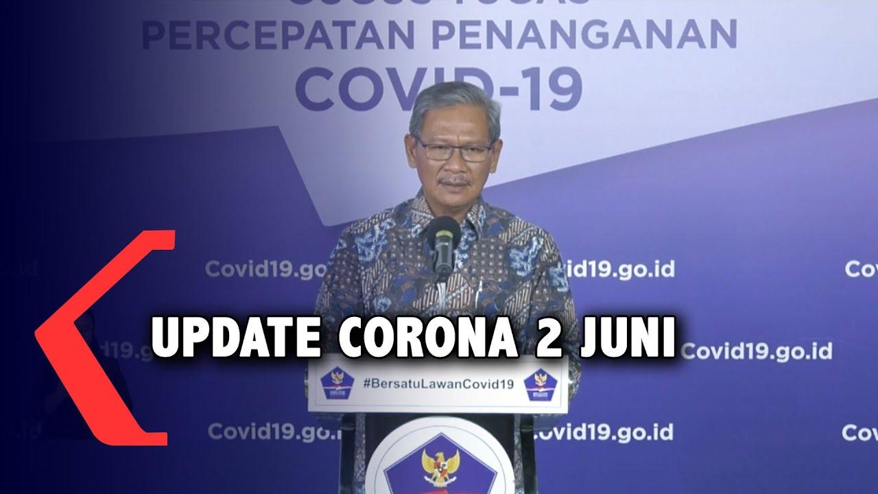 Update Corona 2 Juni: 27.549 Positif, 7.935 Sembuh