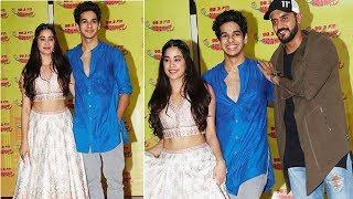 Zingaat Hindi Song Launch FULL   Jhanvi Kapoor and Ishaan Khattar