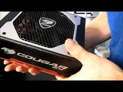 Cougar SX Series 80 PLUS Silver 850W Modular Power Supply Unboxing & First Look Linus Tech Tips