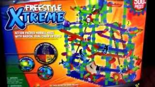 "MARBLE MANIA ""Freestyle Xtreme"" Marble Toy Set by Techno Gears / Toy Review"