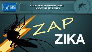 Zap Zika: Apply Insect Repellent