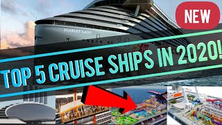 TOP 5 BEST NEW CRUISE SHIPS IN 2020 (w/ Royal Caribbean, Carnival, Virgin, Princess, Celebrity, P&O)