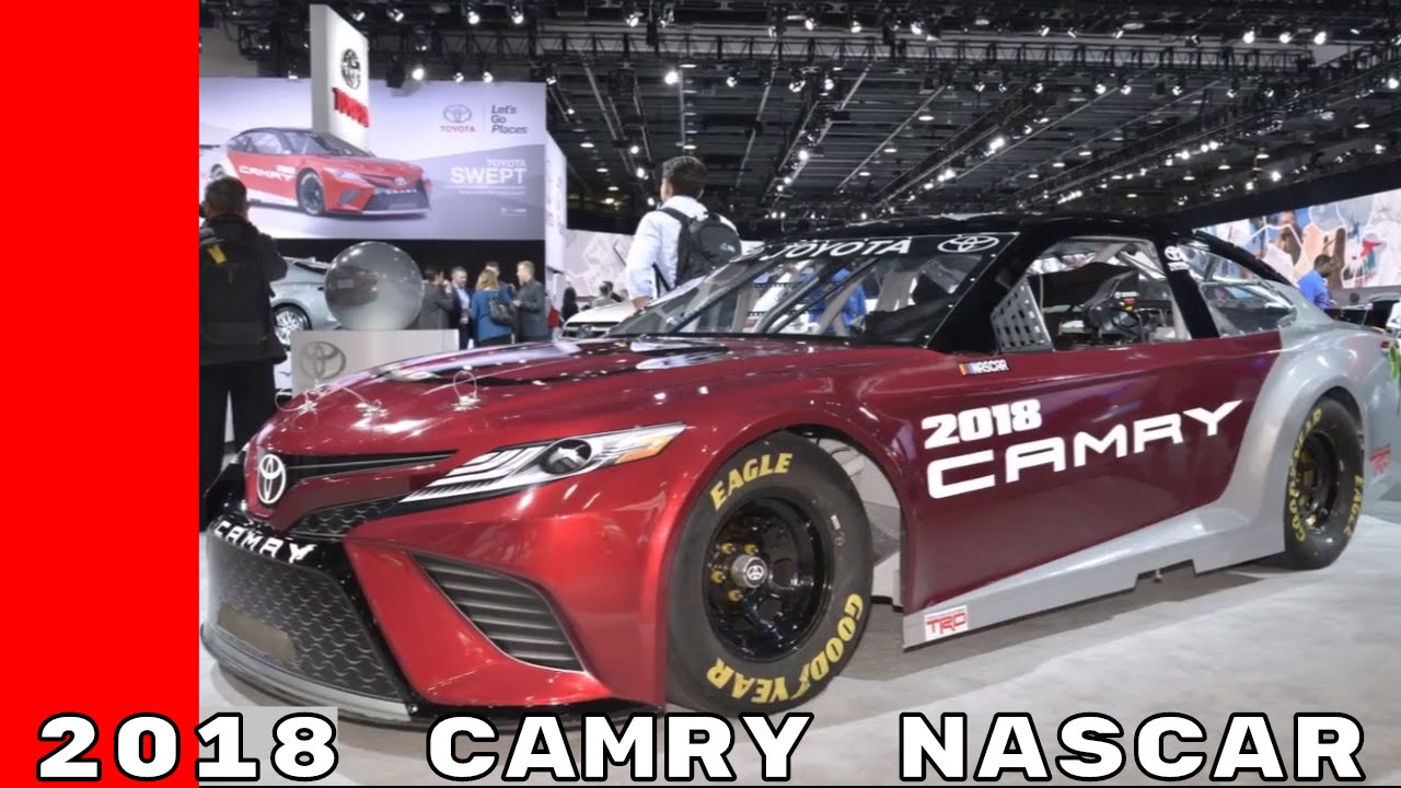 Nascar 2017 Toyota Camry