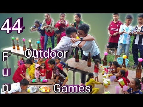 44 Fun Outdoor Games With Cheap Materials | Fun Games For Party
