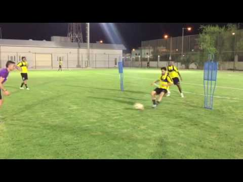 Trabajo Especifico con Defensas  - Al Wakrah Sport Club 9/20