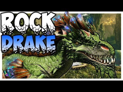 Ark Aberration | ROCK DRAKE | Gameplay Ep 2