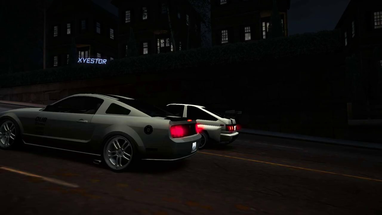 Need For Speed: World - Team NFS Corolla AE86 vs Ford Shelby Terlingua Ford  Mustang 10-14 races