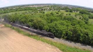 Walkersville Railroad Steam Train Drone WSRR