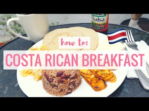 HOW TO: COSTA RICAN BREAKFAST!! | Tess Florio