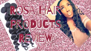 Rosa Hair Products! Aliexpress HONEST review! (1 WEEK)