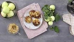 Omenaiset proteiinipannarit pannulla   Valio Reseptit