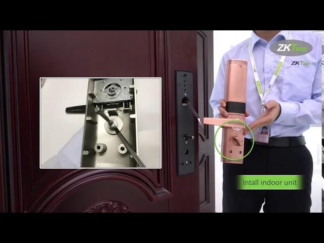Hướng dẫn lắp khóa cửa Smart Lock ZKTECO TL200 480 x 854