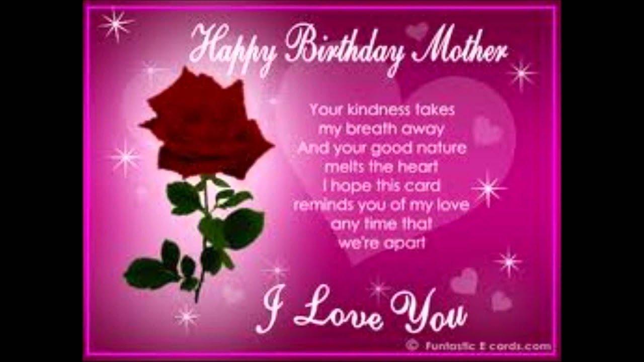 Happy Birthday Mama Youtube
