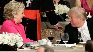 Clinton and Trump trade jabs at Al Smith dinner