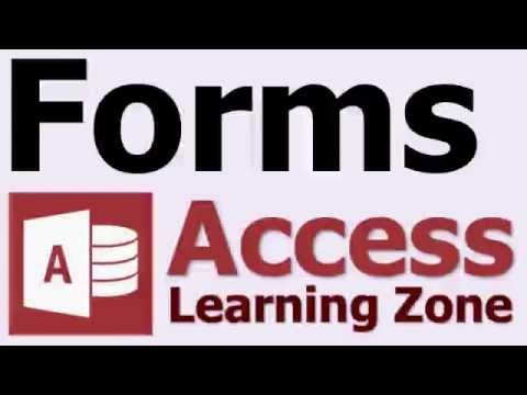 What is a Form in Microsoft Access?