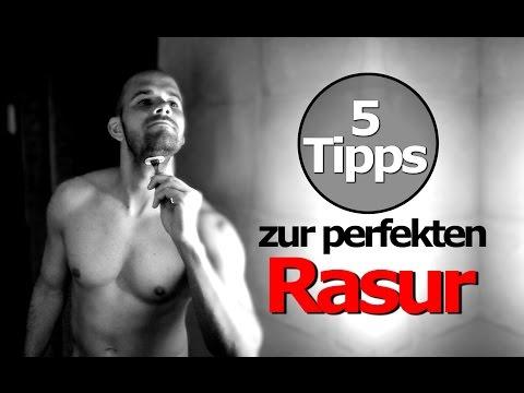 Rasieren Tutorial  - 5 Tipps zur perfekten Rasur - ohne Pickel - Rasieren lernen