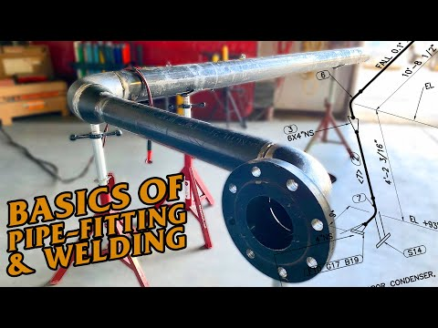 Basics of Pipe-fitting and Welding | How to Fabricate a Spool