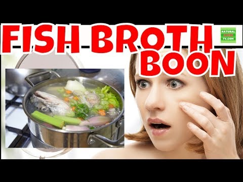 The Many Health Benefits Of Fish Broth COLLAGEN And How Easy To Make It.