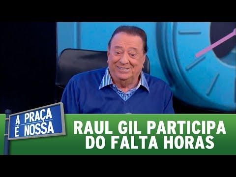 Raul Gil participa do Falta Horas | A Praça é Nossa (10/08/17)