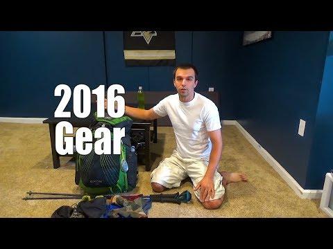 2016 Light Backpacking Gear List (3 season)