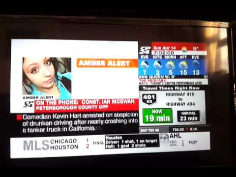 CP24: AMBER ALERT issued for abducted child in Douro-Dummer Township, near Peterborough, Ontario