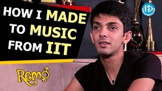 How I Made To Music From Iit Anirudh Ravichander  Remo Movie  Talking Movies With Idream