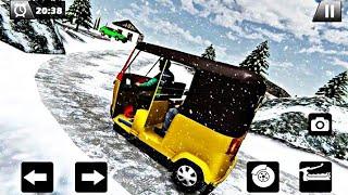 Tuk Tuk Driver Offroad drive Transport Passenger Auto Rickshaw Game (Tempo Wala Game) screenshot 3