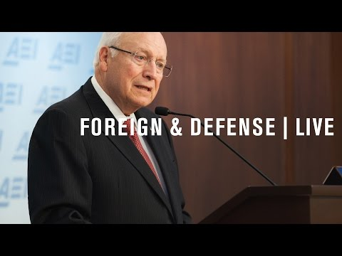 Vice President Dick Cheney: 9/11 and the future of US foreign policy | LIVE STREAM