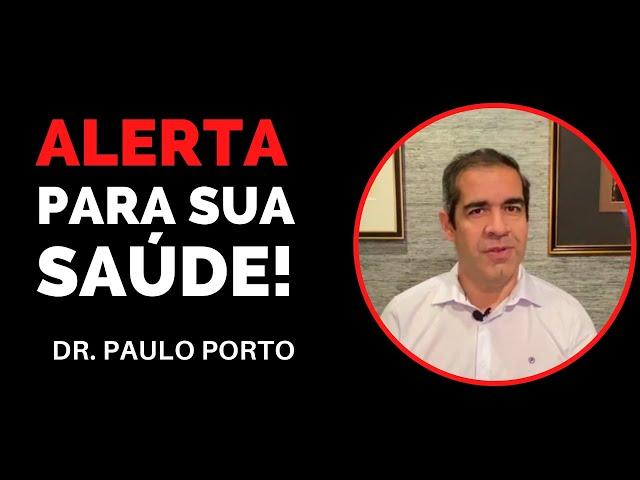 ALERTA PARA SUA SAÚDE! PRESSÃO ALTA Dr. Paulo Porto
