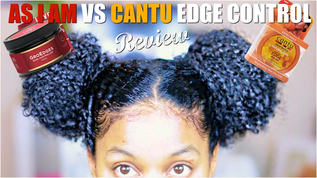Grow Edges VS Cantu Edge Control First ImpressionReview