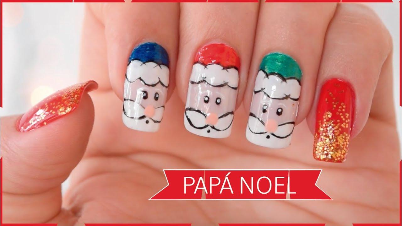 C mo decorar mis u as para navidad 2015 3 naila - Como decorar para navidad ...